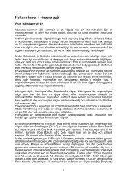 Kulturminnen i vägens spår.pdf - Värnamo kommun