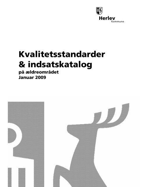 Kvalitetsstandarder & indsatskatalog - Herlev Kommune