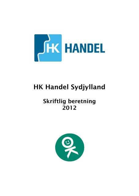 Beretning 2012 HK Handel Sydjylland HKM Karsten - 2