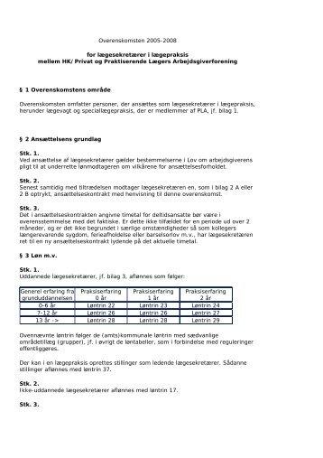PLA Overenskomsten 2005.pdf - HK