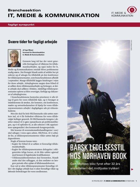 BARSK LEDELSESSTIL HOS NØRHAVEN BOOK - HK