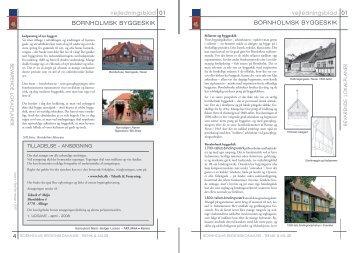 BORNHOLMSK BYGGESKIK vejledningsblad 4 BORNHOLMSK ...