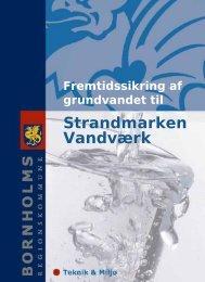 Strandmarken Vandværk - Bornholms Regionskommune