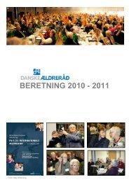 BERETNING 2010 - 2011 - Danske Ældreråd