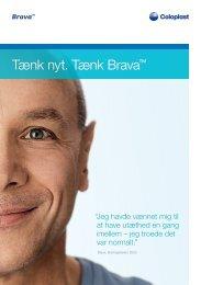 P P Tænk nyt. Tænk Brava™ - Coloplast