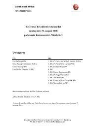 Bilag til punkt 5 på HB-mødet den 9 - Dansk Skak Union