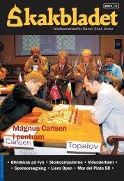 Magnus Carlsen i centrum - Dansk Skak Union