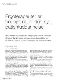 [pdf] Patientuddannelse - Ergoterapeutforeningen