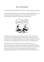 [pdf] Taler vi om det samme? - Ergoterapeutforeningen