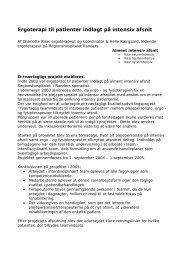 [pdf] Ergoterapi til patienter indlagt på intensiv afsnit
