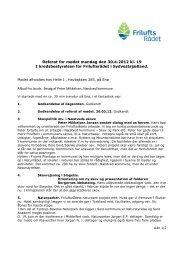 Referat for mødet mandag den 30.4.2012 kl. 19 I ... - Friluftsrådet