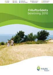 Årsberetning 2010 - Friluftsrådet