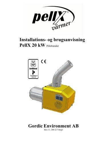 Pellx - Fyrteknik