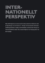 INTER- NATIONELLT PERSPEKTIV