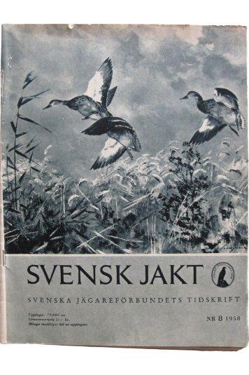 SVENSK JA - Svenska Jägareförbundet