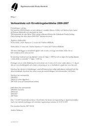 Riktlinjer och protokoll 2007