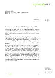 Forbrugerrådet - taxa - Konkurrence