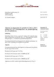 Kalundborg Vandforsyning A/S - Konkurrence