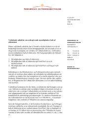 Vejledende udtalelse om ordregivende ... - Konkurrence