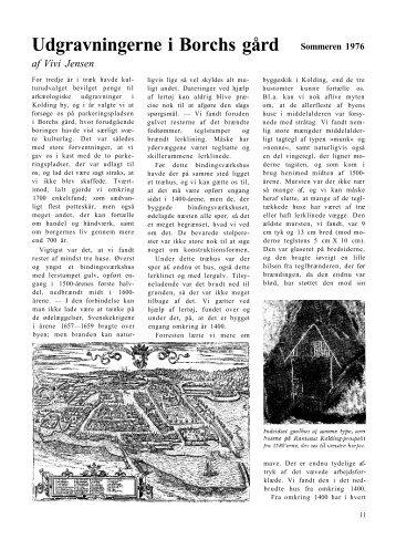 Udgravningerne i Borchs gård
