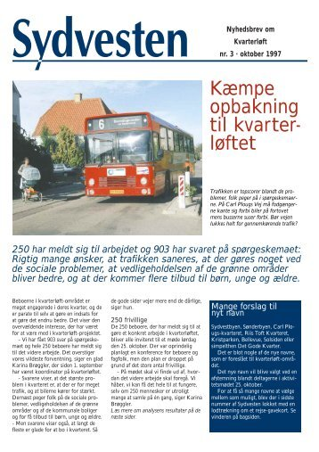 Kæmpe opbakning til kvarter- løftet - Kolding Kommune