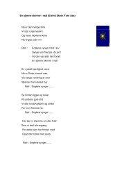 En stjerne skinner i natt (Eivind Skeie /Tore Aas) Nå er ... - Linksidene
