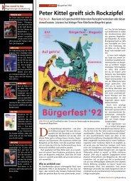 Peter Kittel greift sich Rockzipfel - Regensburger Stadtzeitung