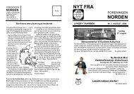 Nr. 3 - august 2008 - Foreningen NORDEN Lyngby - Taarbæk