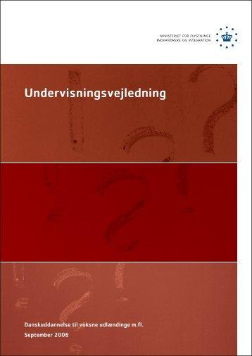Undervisningsvejledning [30.09.2006]