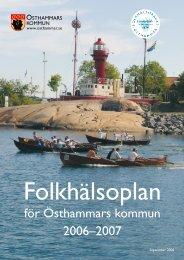 för Östhammars kommun 2006–2007