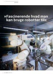 Fascinerende hvad man kan bruge robotter til« - Pharmadanmark