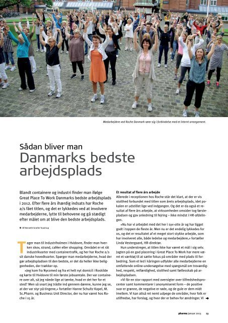 Danmarks bedste arbejdsplads - Pharmadanmark
