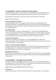 Erfaringer fra ti kommunale arbejdspladser - Personaleweb