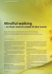 Mindful walking – to fluer med ét smæk til den travle - Pharmadanmark