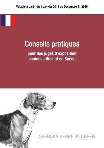 Domaranvisningar på franska - Svenska Kennelklubben