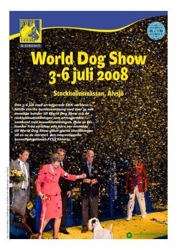 Bilaga om World Dog Show 2008 - Svenska Kennelklubben
