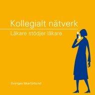 Kollegialt nätverk - Sveriges läkarförbund
