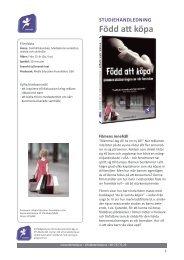 Född att köpa STUDIEHANDLEDNING - SLI.se