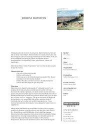1151 Jordens ekosystem - SLI.se