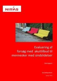 Evalueringsrapport - Servicestyrelsen