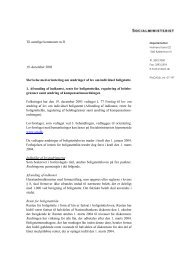 Til samtlige kommuner m.fl. 19. december 2003 Skrivelse med ...