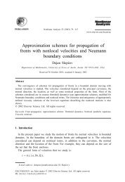 Approximation schemes for propagation of fronts with nonlocal ...