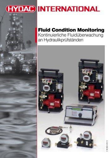 Fluid Condition Monitoring - Hydac