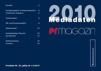 Mediadaten - Rommerskirchen GmbH & Co. KG