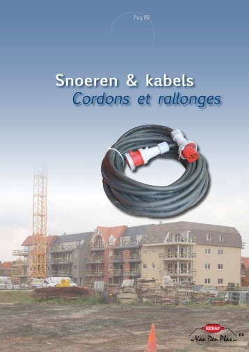 Snoeren & kabels Cordons et rallonges - Guerre des Prix