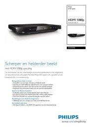 DVP3990/12 Philips DVD-speler - Guerre des Prix