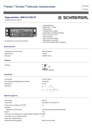 Gegevensfiche - BNS 33-12ZG-ST - 1144401 ... - Guerre des Prix