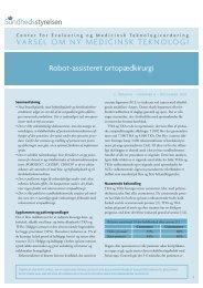 Elektronisk udgave (PDF) - Sundhedsstyrelsen