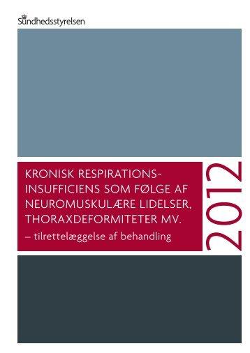 Kronisk respirationsinsufficiens som følge af neuromuskulære lidelser