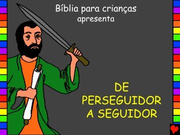From Persecutor to Preacher Portuguese PDA - Bible for Children